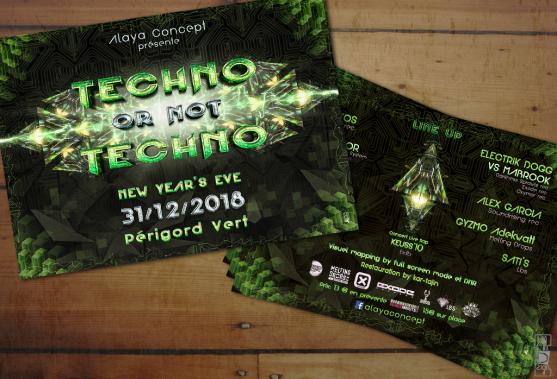 "Techno or nbot Techno ""Alaya Concept"""